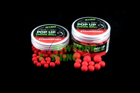 Stég Product Pop Up Smoke Ball 8-10mm STRAWBERRY 20gr