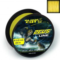 Ø0,60MM BLACK CAT ZEUS LINE 300M 59KG,130LBS SÁRGA
