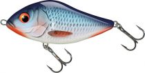 7CM SLIDER SINKING BLEEDING BLUE SHAD